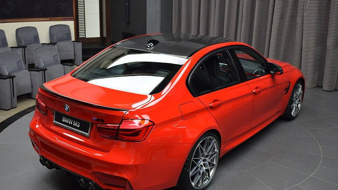 Bmw M3 With Competition Package And Ferrari Red Paint 1742366