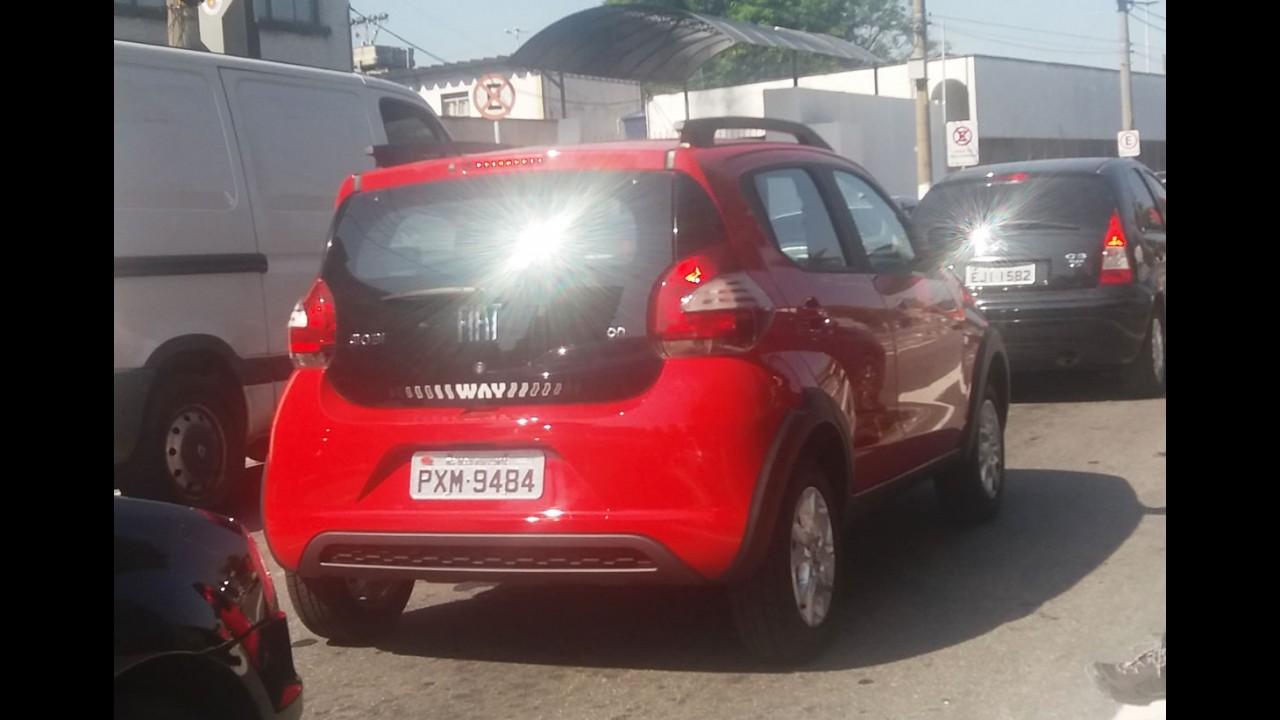 Flagra: Fiat Mobi Way já roda limpinho em São Paulo