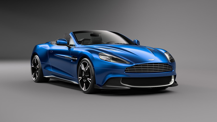 2018 Aston Martin Vanquish S Volante puts its top down, powers up