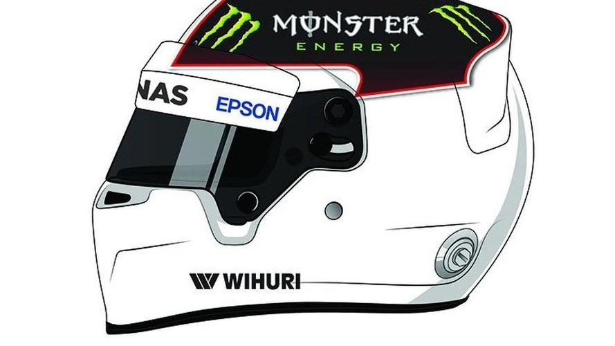 À vous d'imaginer le casque d'un triple champion du monde de Formule 1