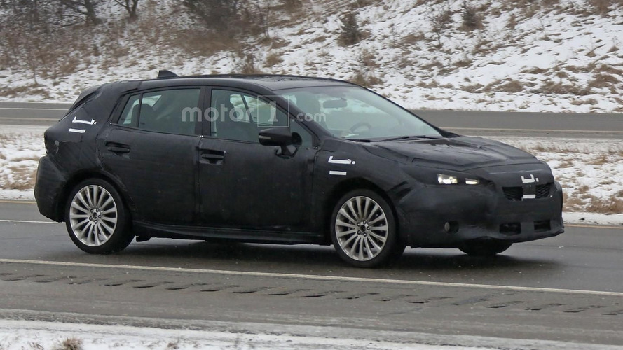 2017 Subaru Impreza hatchback spied during final testing