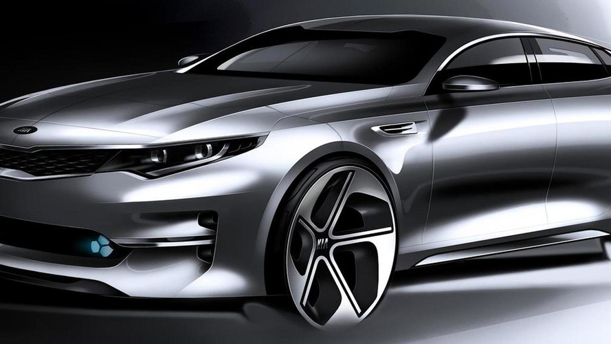 2016 Kia Optima teased ahead of New York Auto Show reveal