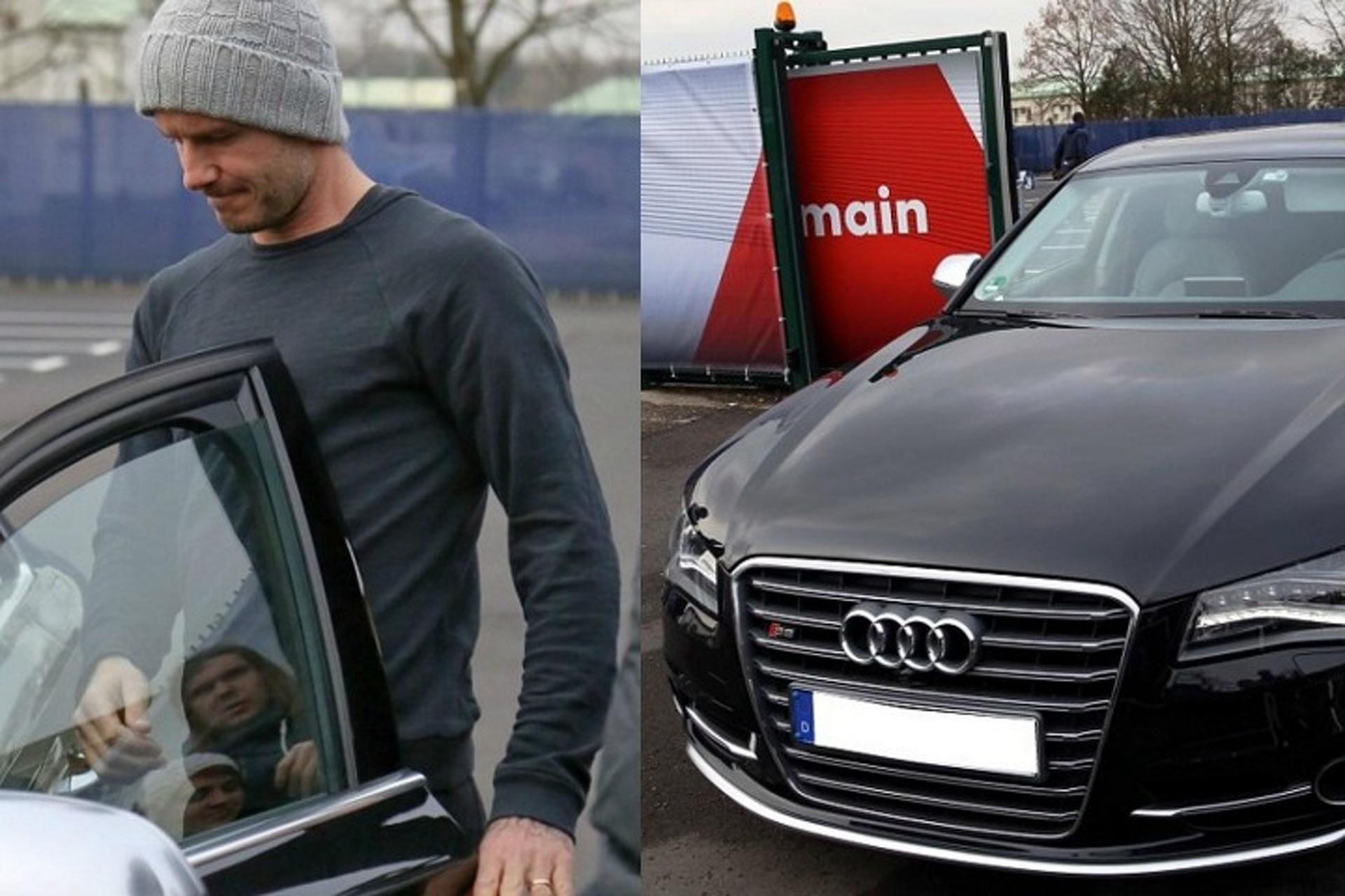 David Beckham voitures