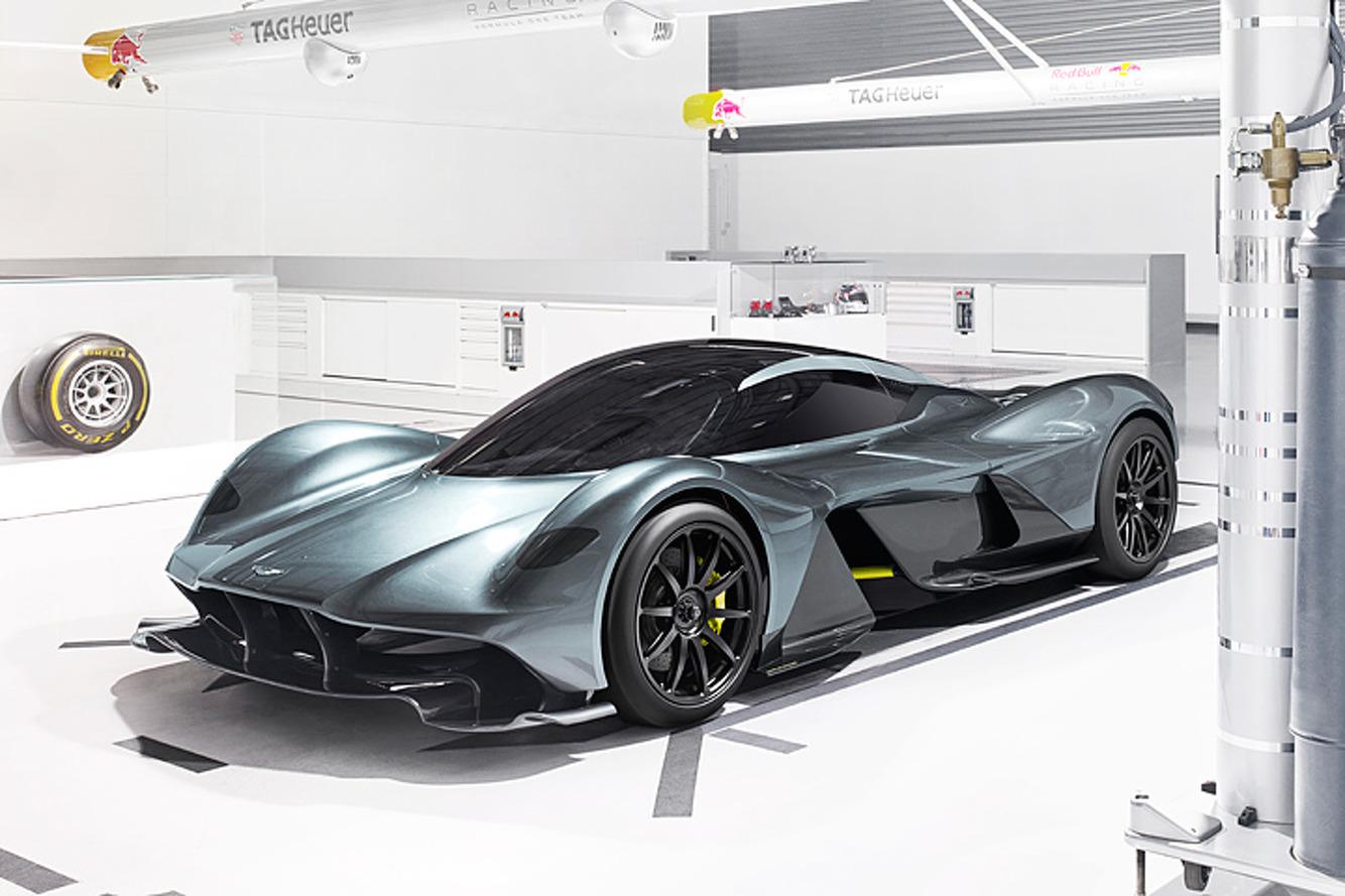 L'Aston Martin Red Bull AM-RB 001 devrait adopter une motorisation hybride