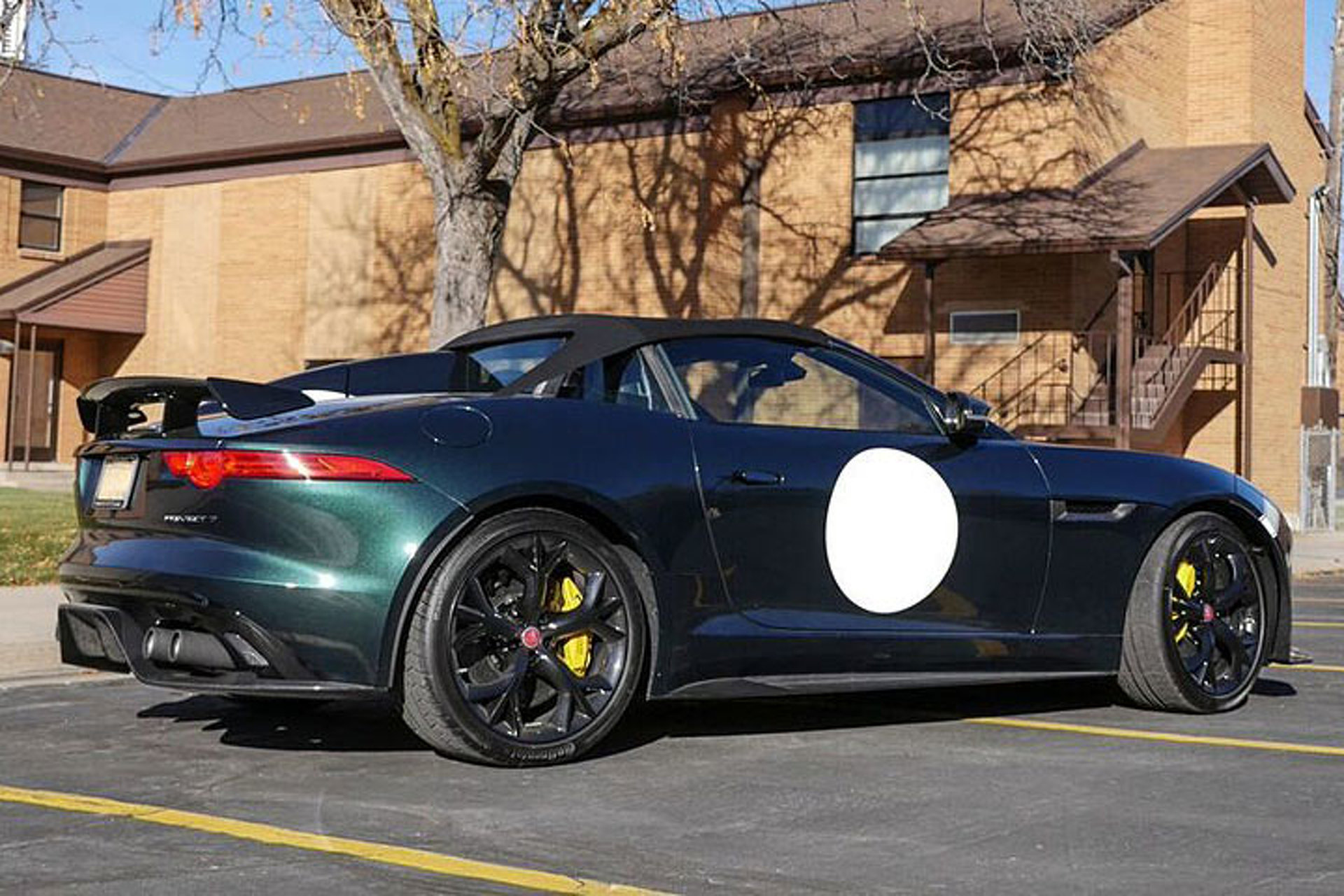 Rare 1 Of 250 Jaguar F Type Project 7 Roars Onto Ebay