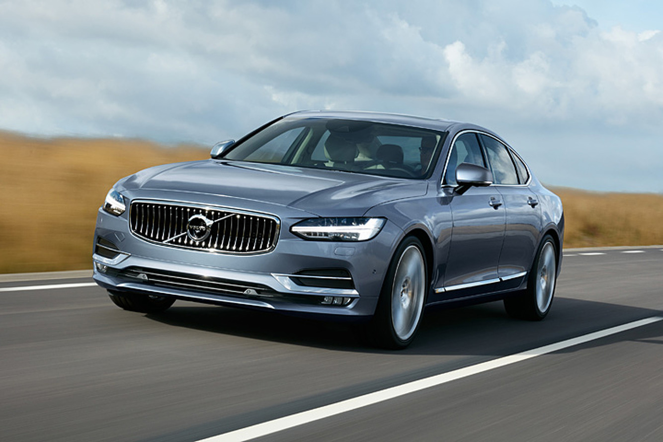 The 2017 Volvo S90 is a Luxurious Swedish Rocket Ship
