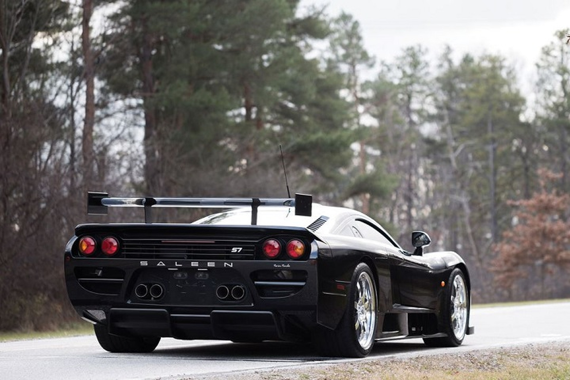 Rare Saleen S7 Twin Turbo Competition Package Heading to Auction