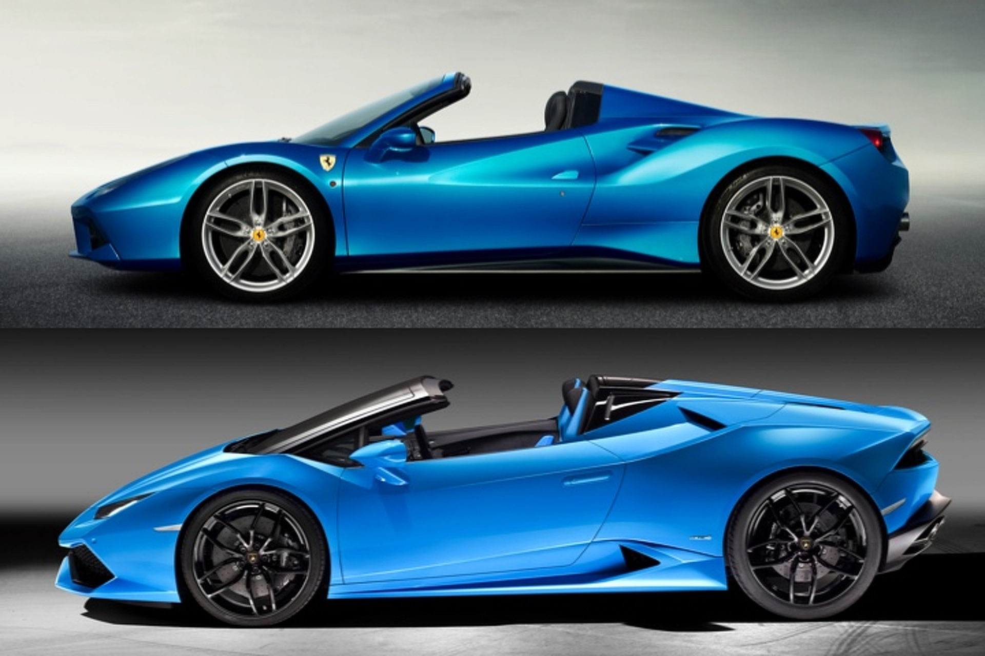 Lamborghini Huracan Spyder Vs Ferrari 488 How Do They Stack Up