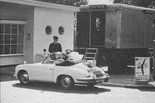 Porsche 356 polis aracı