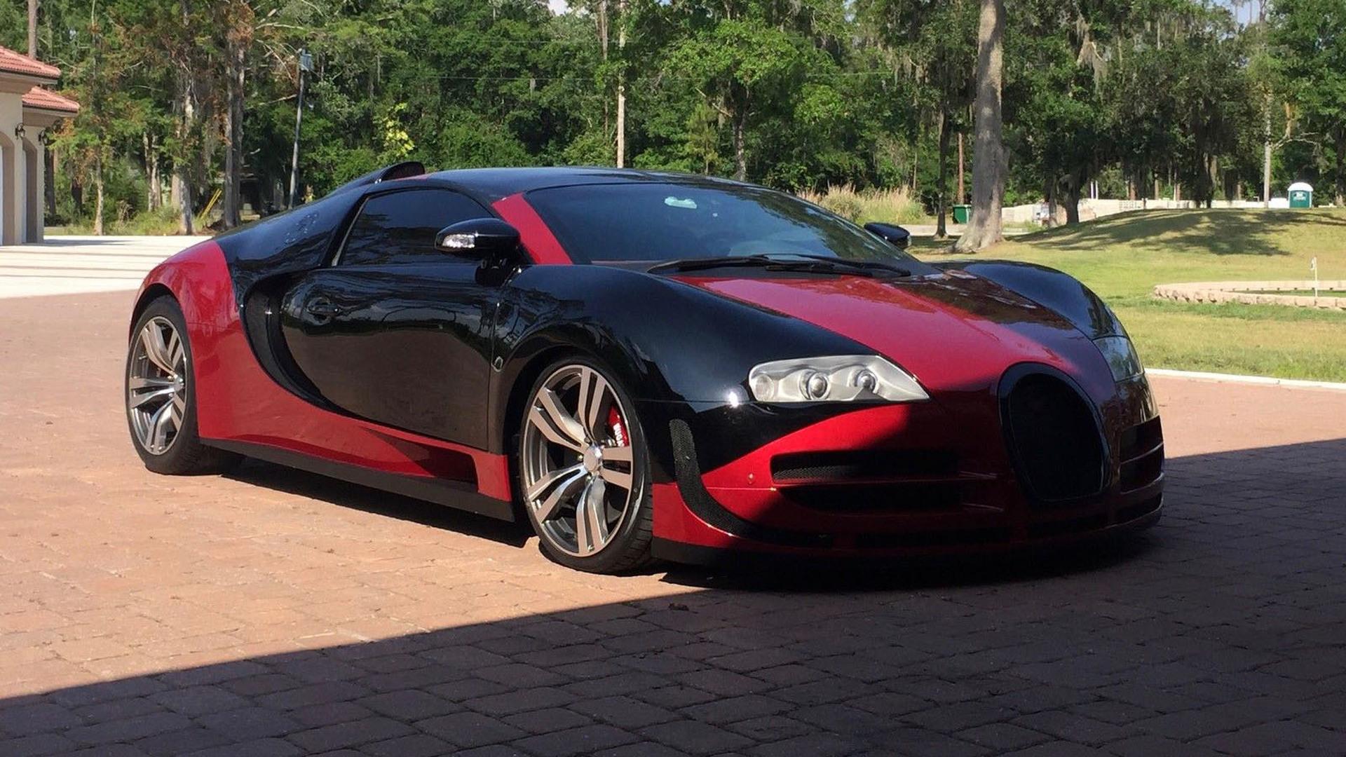 Bugatti veyron replica body kit for sale