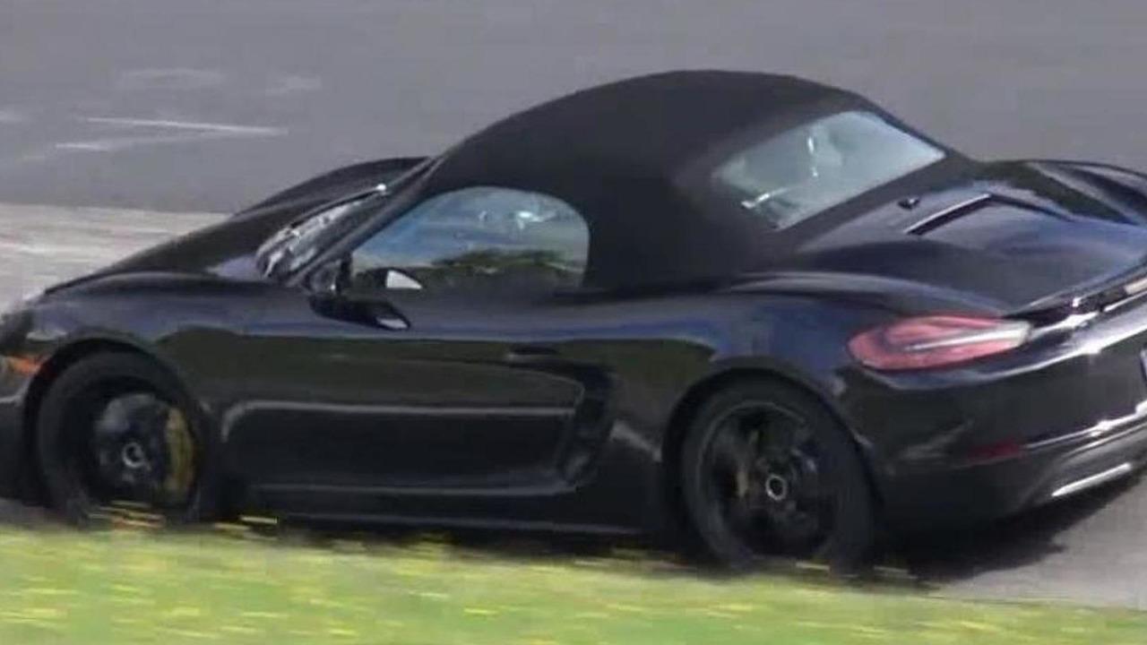 2016 Porsche Boxster S facelift