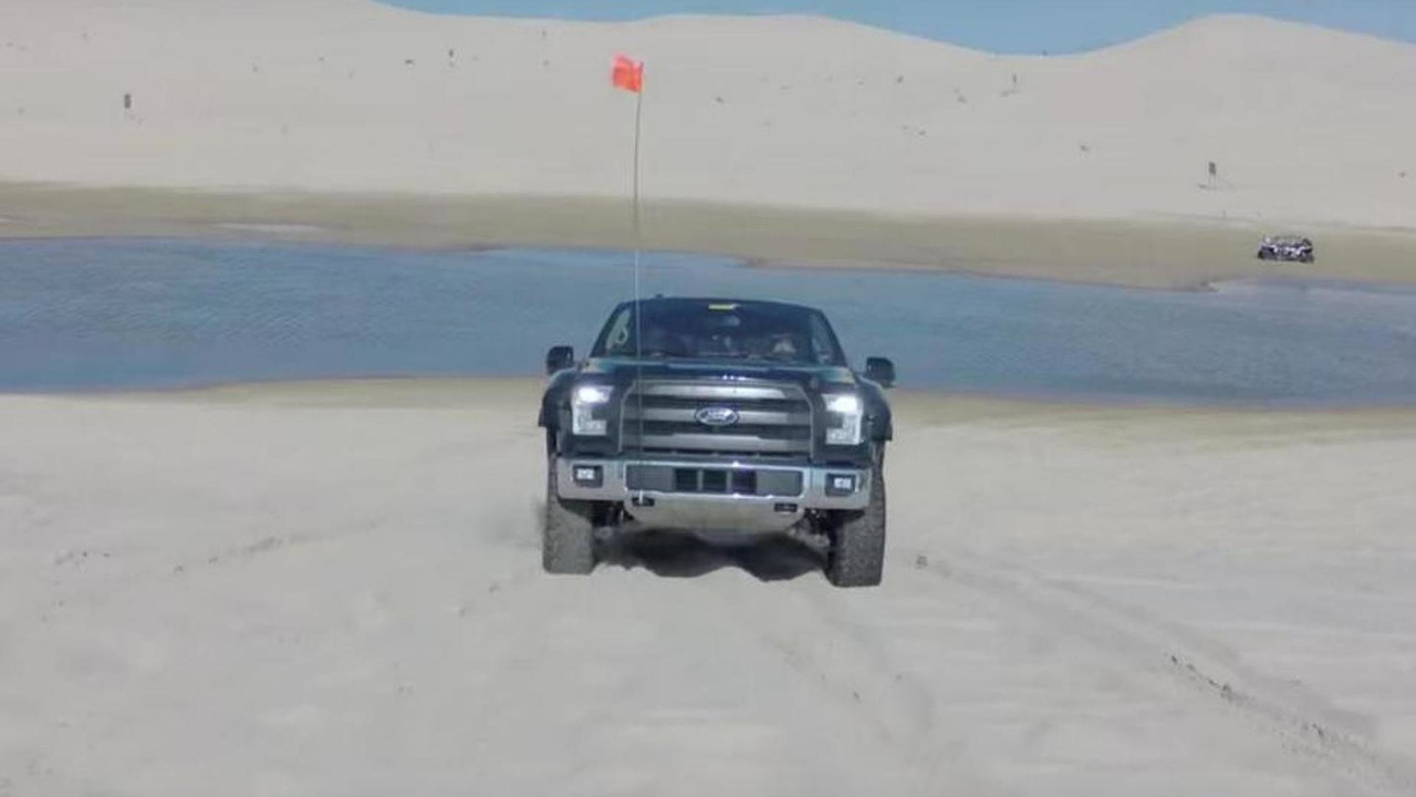 Ford F-150 Raptor prototype