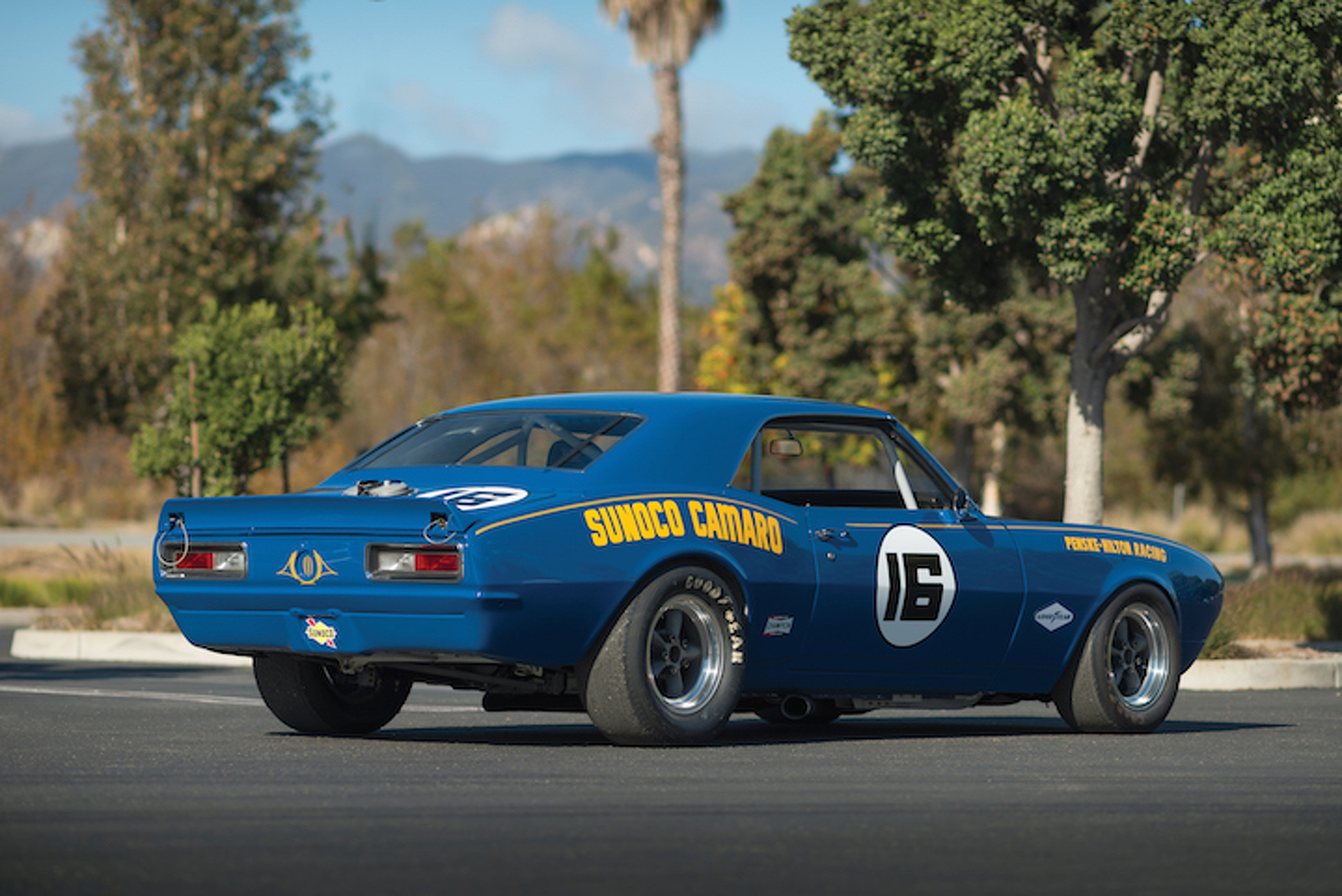 Classic 1968 Chevrolet Sunoco Camaro Trans Am Could Fetch $1 Million