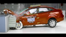 Vídeo: New Fiesta é aprovado em crash test