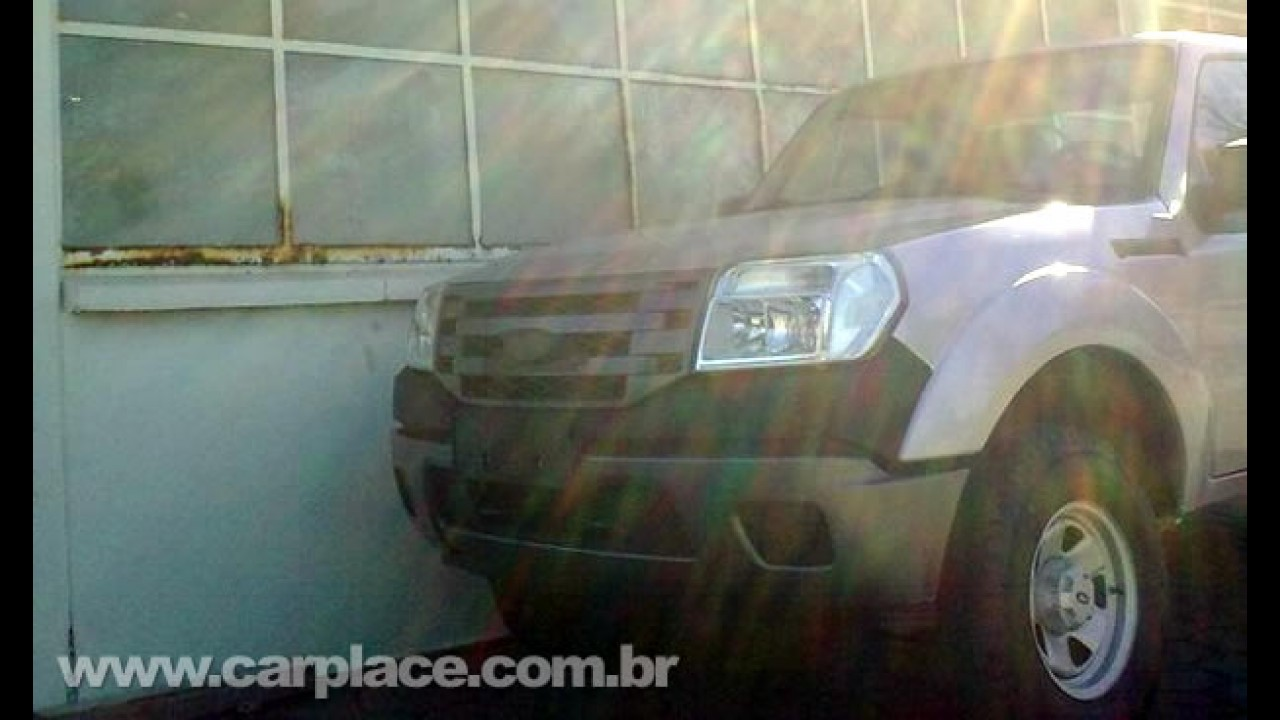 Vazou! Esta é a cara da Nova Ford Ranger 2010