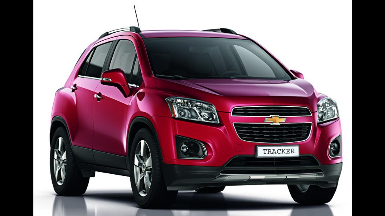 Chevrolet Trax se chamará Tracker na Rússia