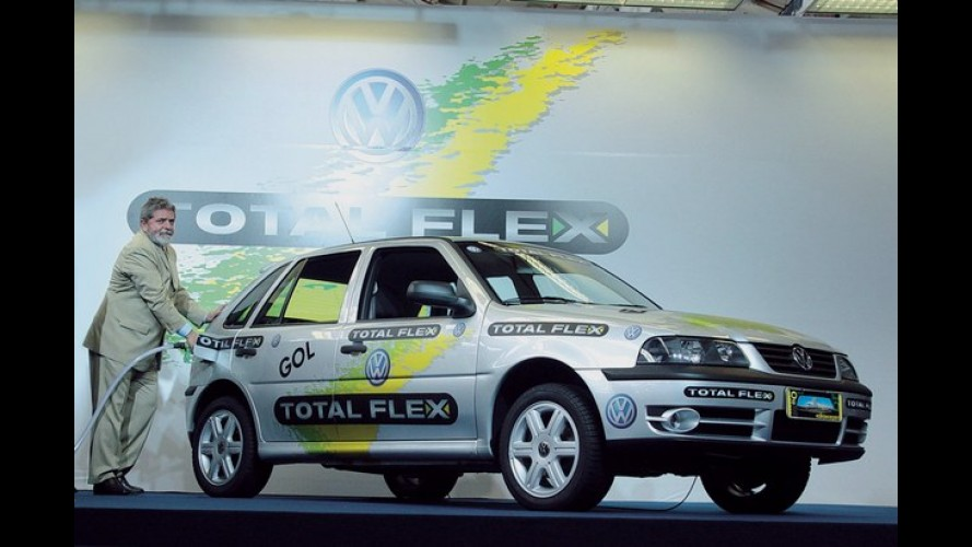 Brasil atinge a marca de 20 milhões de veículos flex
