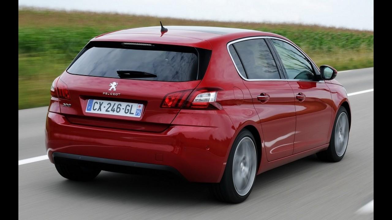 Peugeot já trabalha no 308 GTI com motor 1.6 turbo de 250 cv