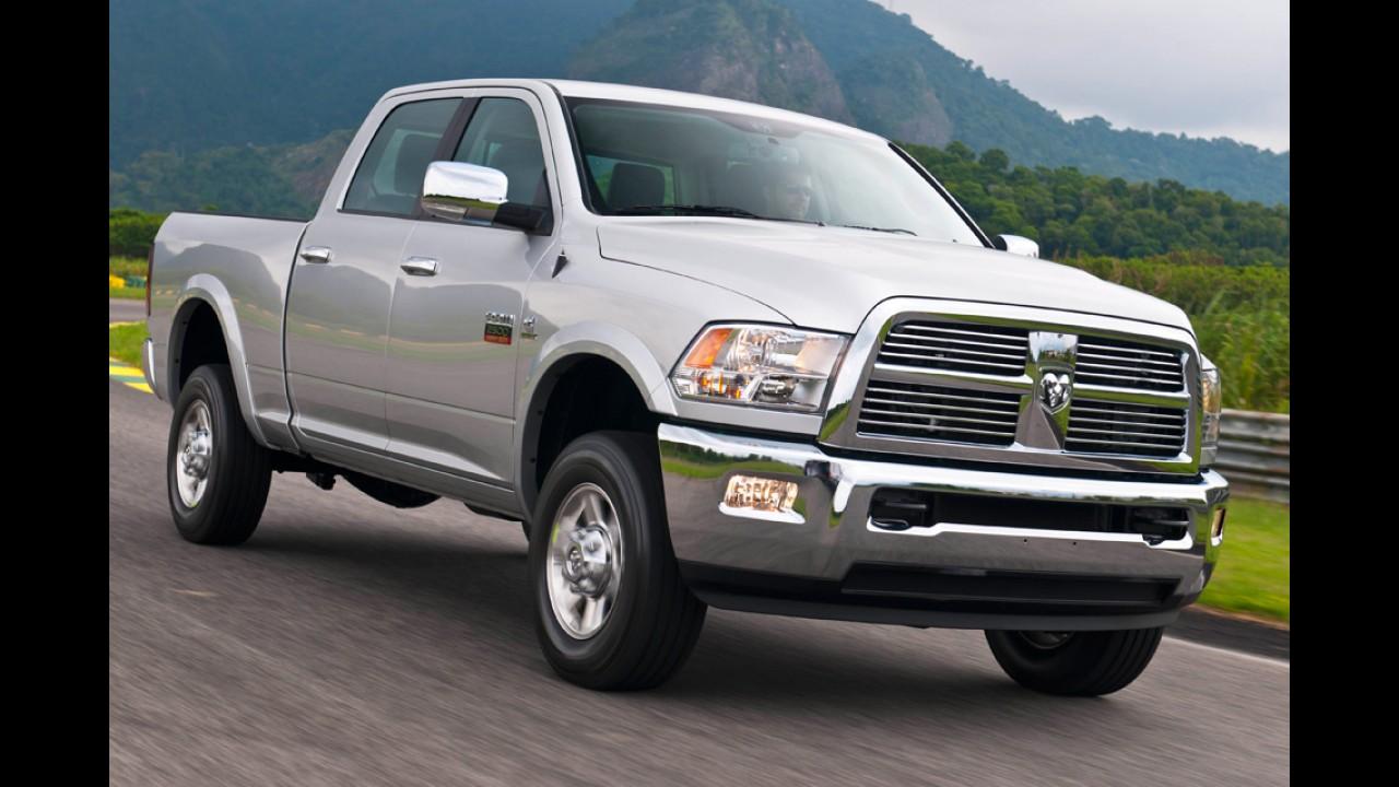 Acordo com México deixa RAM 2500 mais cara - Picape agora custa a partir de R$ 169.900