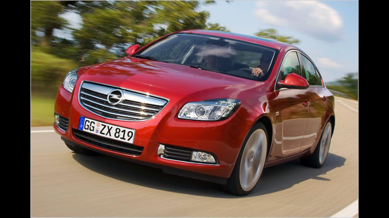 Platz 3 Mittelklasse: Opel Insignia