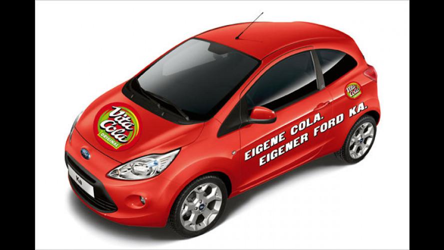 Cola-Wagen für den Osten: Ford Ka Vita