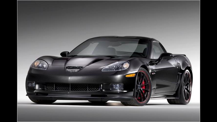 Schwarzes Gold beflügelt die 2012er-Corvette