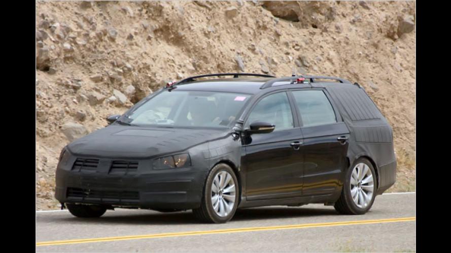 Erlkönig erwischt: So sieht der neue VW Passat Variant aus