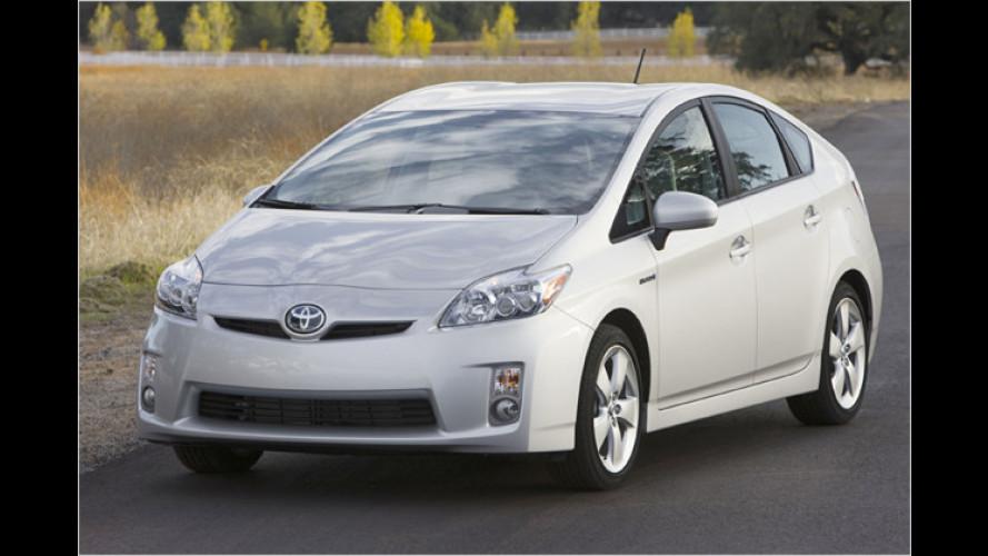 Toyota 2009 mit geringstem Flottenverbrauch in Deutschland