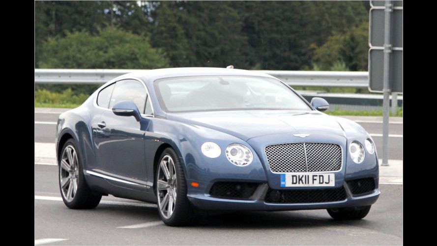 Erstmals ungetarnt: Neuer Bentley Continental GT Speed