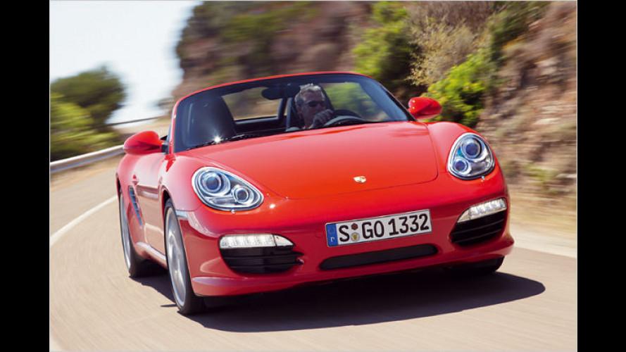 Facelift: Porsche überarbeitet den Boxster und den Cayman