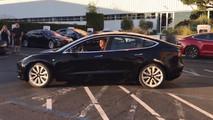 Tesla Model 3 #0001 video