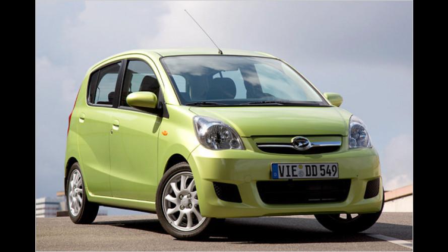 Daihatsu-Sonderaktion: Cuore 1.500 Euro günstiger