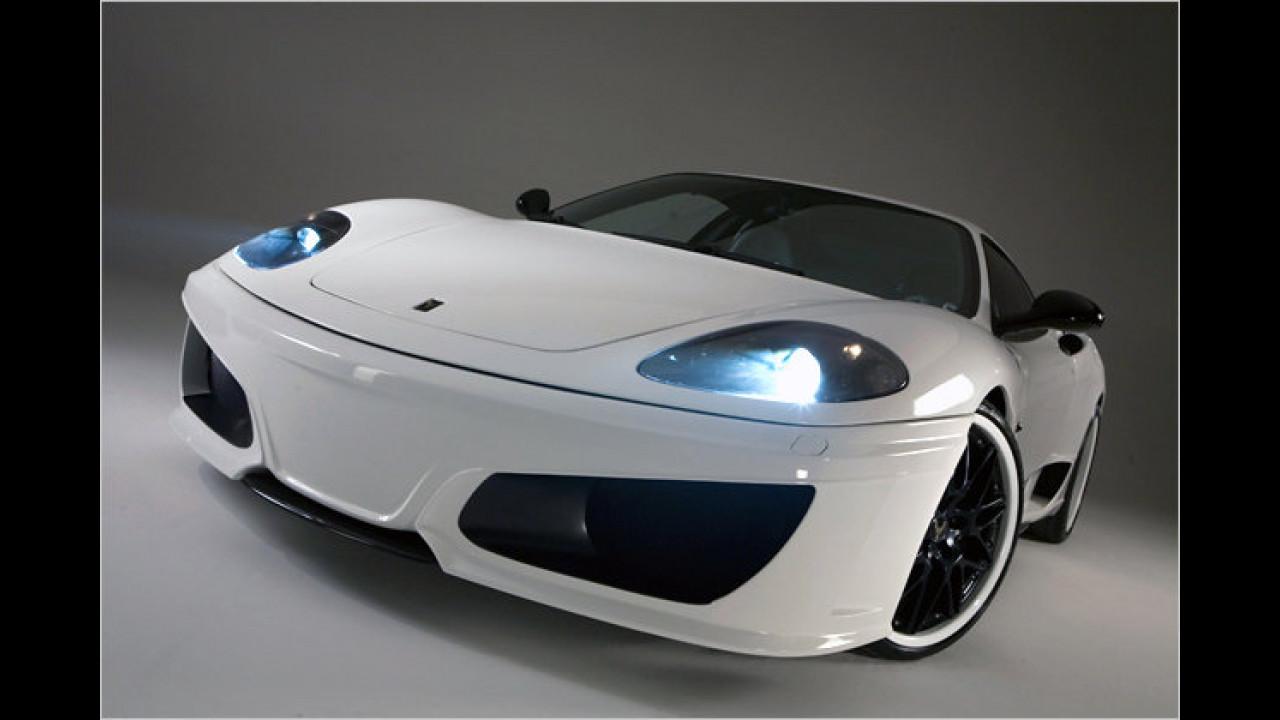 Ferrari 360 aufgefrischt