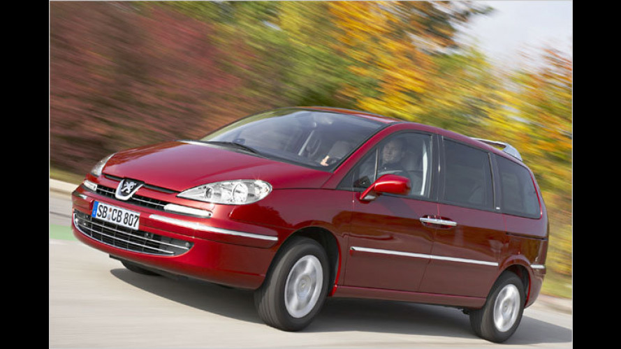 Peugeot 807: Preiswerter mit Euro 5