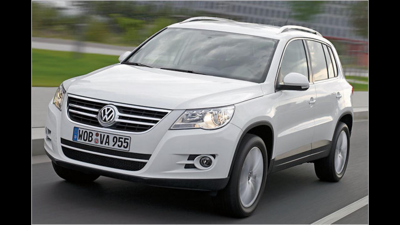 SUVs/Geländewagen, 1. Platz: VW Tiguan