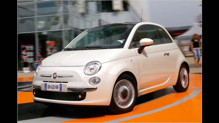 Fiat stellt Zweizylinder vor: Premiere des 500 Twin-Air in Genf