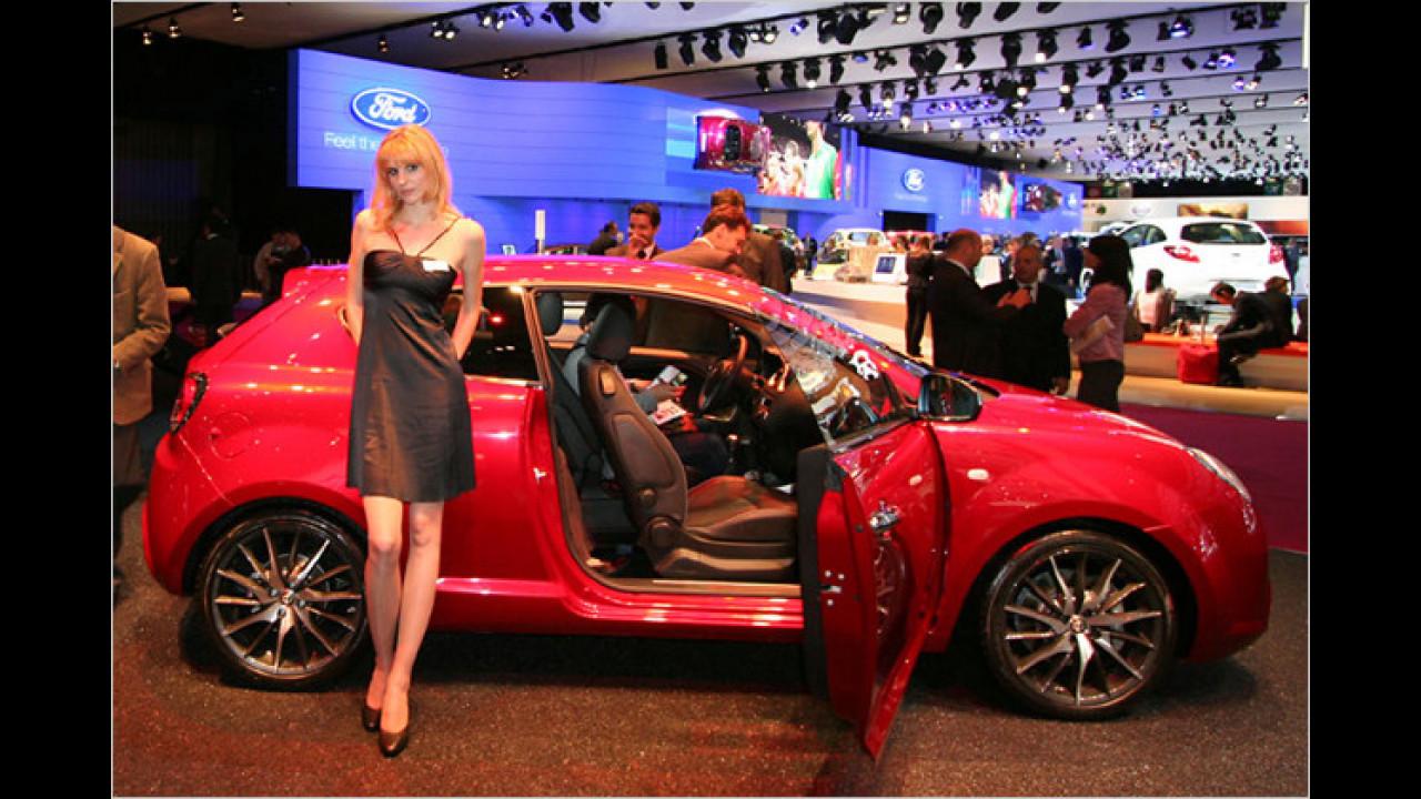 Ja, der Alfa Mito ist ein Frauenauto ...