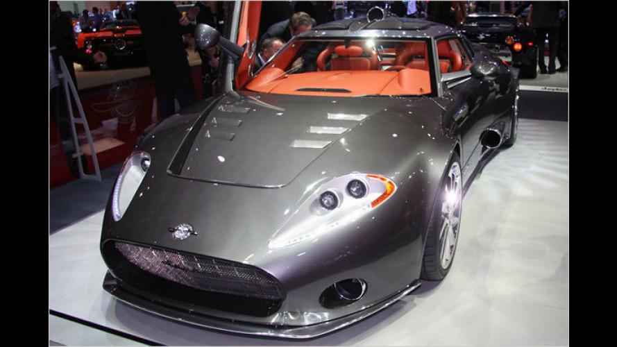 Spyker zeigt auf dem Genfer Auto-Salon den C8 Aileron