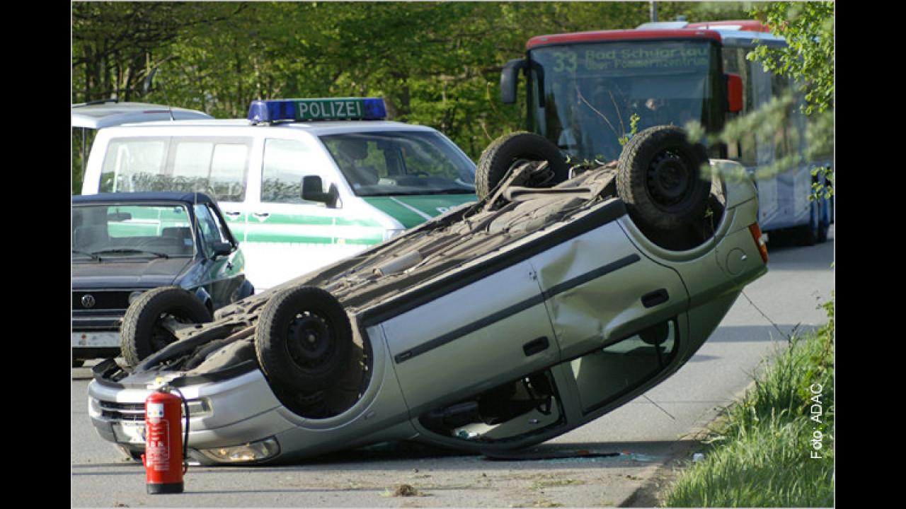 Ein Crash, was tun?