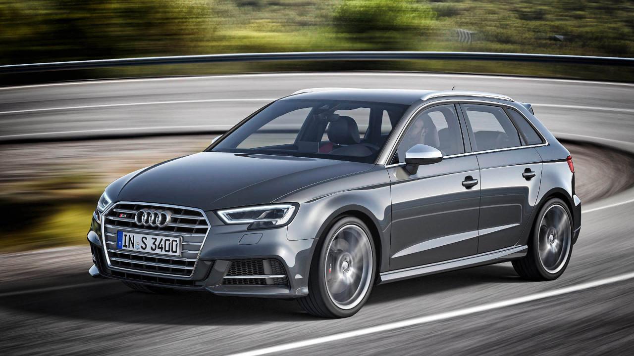 Audi S3 Cabrio/Limousine/Sportback