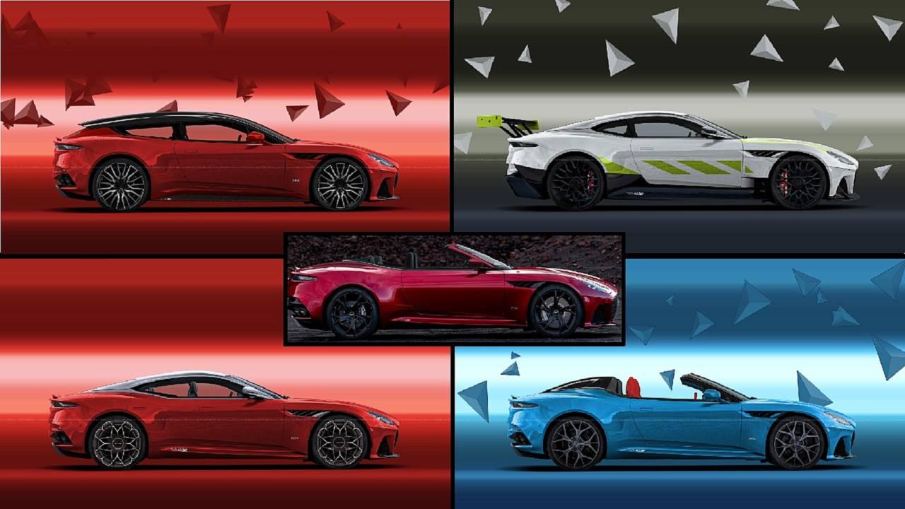 Aston Martin DBS Superleggera renderings top image