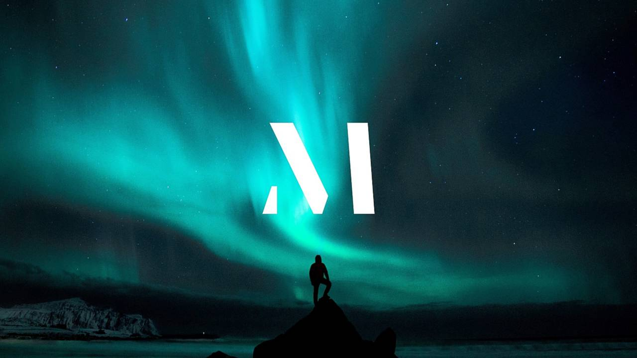 Volvo M brand logo