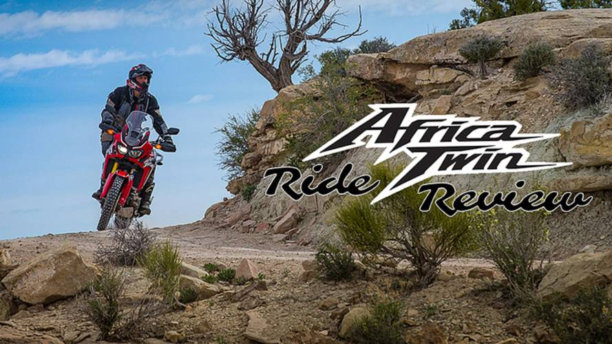 2016 Africa Twin - Ride Review Video