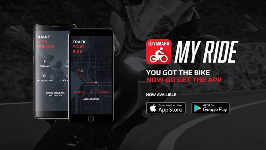Yamaha presenta su nueva app MyRide