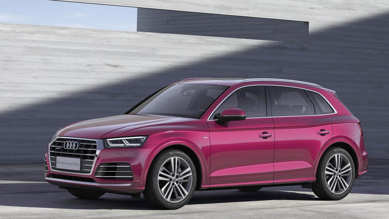 Audi Q5L à empattement long