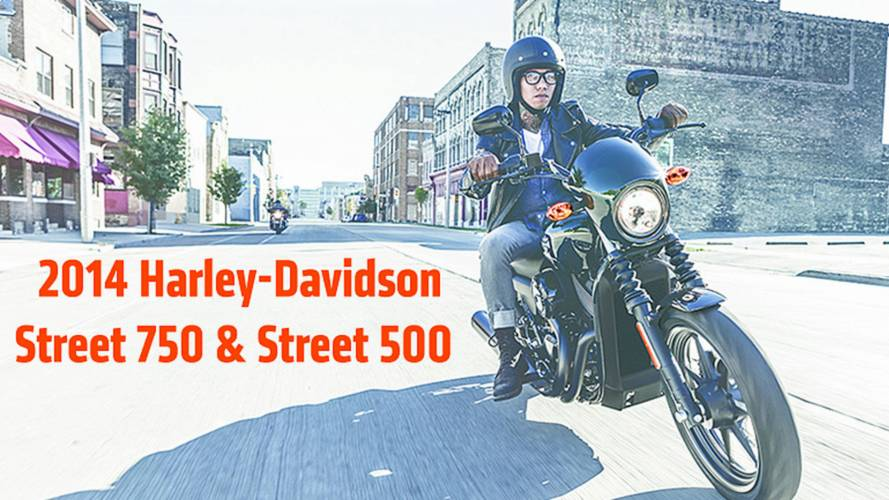 First Official Photos Of The 2014 Harley-Davidson Street Series