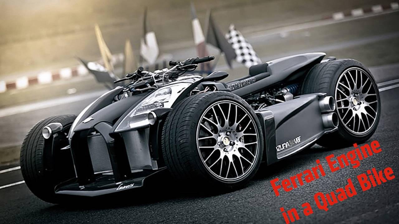 Lazareth Wazuma V8F Quad – Engine By Ferrari