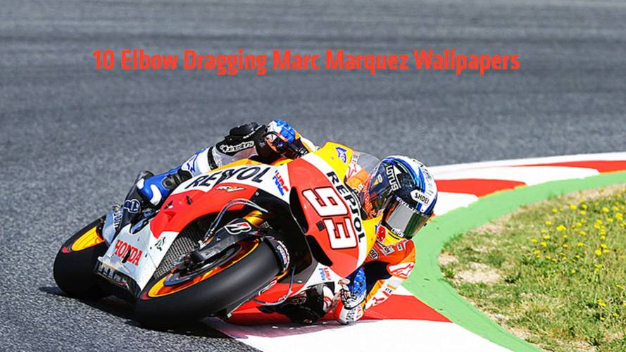 10 Elbow-Dragging Marc Marquez Wallpapers From His Rookie Year