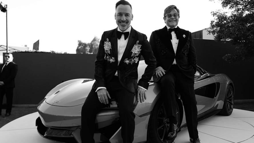 McLaren 570S Spider pour la fondation Elton John AIDS