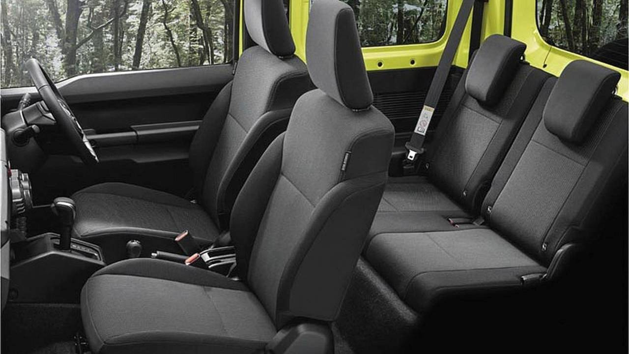 Suzuki Jimny 2019: equipamiento